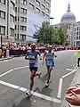 Jose Amado Garcia (Guatemala) & Miguel Barzola (Argentina) - London 2012 Mens Marathon.jpg