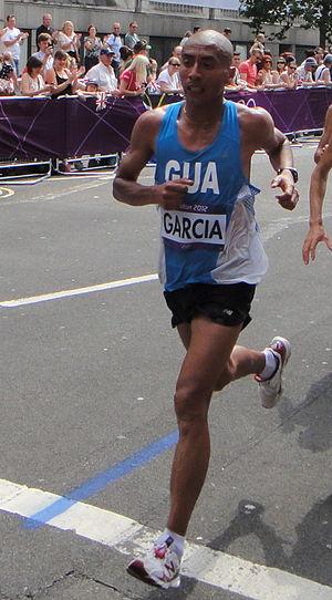 José Amado García - Jose Amado Garcia in the marathon at the 2012 Summer Olympics in London