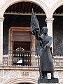 Jose Maria Morelos Statue in Courtyard - La Universidad Michoacana de San Nicolas de Hidalgo - Morelia - Michoacan - Mexico (20286384999).jpg