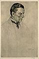 Joseph Chamberlain. Etching by W. Strang, 1903. Wellcome V0001058.jpg