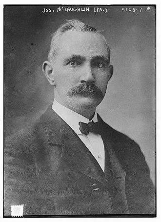 Joseph McLaughlin (Pennsylvania politician) - McLaughlin circa 1915