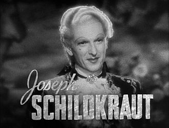 Joseph Schildkraut - Image: Joseph Schildkraut in Marie Antoinette trailer