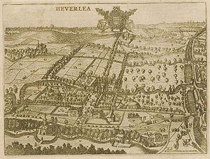 Josse van der Baren - Panorama of Heverlee