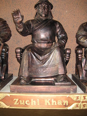 Jochi - Statue of Jochi Khan in Mongolia
