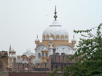Samadhi (shrine) - Samadhi of Ranjit Singh in Lahore