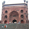 Juma Masjid - Delhi, views inside and around (4).JPG