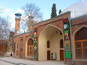 Juma Mosque, Ganja - Image: Juma mosque in Ganja Azerbaijan