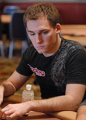 Justin Bonomo - Bonomo at the 2008 Five Diamond World Poker Classic