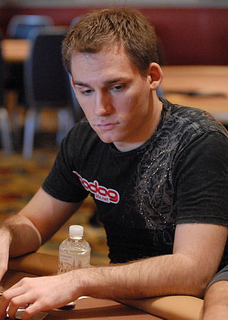 Justin Bonomo - Bonomo at the 2008 Five Diamond World Poker Classic