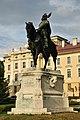 Kálmán herceg lovas szobra (07), Gödöllő.JPG