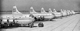 KC-97Es 306th ARS at MacDill AFB 1951.jpg
