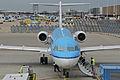 KLM Cityhopper Fokker 70; PH-WXA@AMS;15.04.2013 705bz (8679536595).jpg