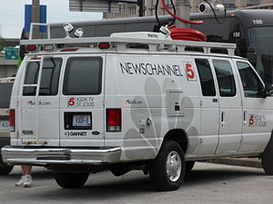 KSDK - KSDK-TV news van.