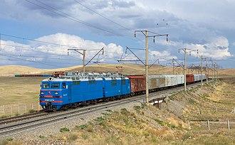 Kazakhstan Temir Zholy - Image: KTZ VL80 Chokpar