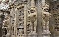 Kailasanatha Temple, dedicated to Shiva, Pallavve period, early 7th century, Kanchipuram (22) (37457577701).jpg