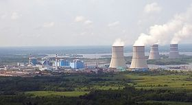 Kernkraftwerk Kalinin mit vier WWER-1000 im Mai 2013