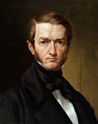 Kanuty Rusiecki - Self-portrait (1830s)