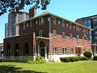 Kappa Sigma - University of Illinois chapter house, listed in the National Register of Historic Places