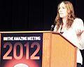 Karen Stollznow presents at TAM 2012.jpg