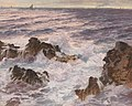 Karl Theodor Boehme - Heavy Seas off the Coast of Capri.jpg