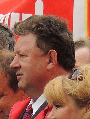 Vladimir Kashin - Vladimir Kashin at a 2012 communist rally in Moscow.