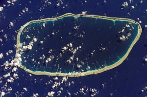 Katiu - NASA picture of Katiu Atoll.