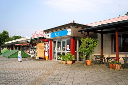 桂川パーキングエリア(下り線)