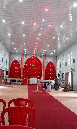 Kattikkulam, Wayanad - Image: Kattikkulam Church