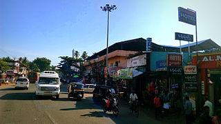Kavanad Neighbourhood in Kollam, Kerala, India
