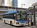 Kawasaki City Bus A-1865 at Musashi-Kosugi Station.jpg