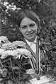 Keetie Hage, wereldkampioene op de weg (dames), wordt gehuldigd, Bestanddeelnr 921-6448.jpg