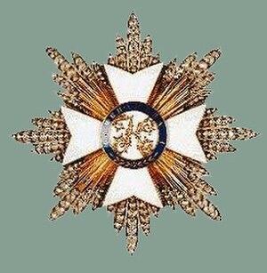 Royal Order of Kamehameha I - Image: Kehameha I amknightsgrandcrosss tar