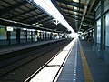 Keikyu-railway-main-line-Aomono-yokocho-station-platform.jpg