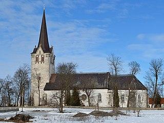 Keila Town in Harju County, Estonia