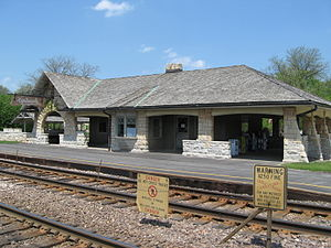 Kenilworth station (Illinois) - Image: Kenilworth Metra Station