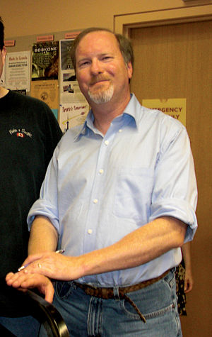 Kevin J. Anderson - Anderson at Toronto book signing, August 2009