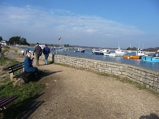 Keyhaven , Solent Way and Harbour - geograph.org.uk - 1720825