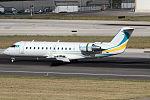 Khozu-Avia Bombardier CL-600-2B19 Challenger 850 at Lisbon Airport.jpg