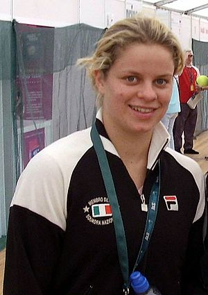 2009 US Open (tennis) - Kim Clijsters won her second US Open title, which goes with her 2005 triumph, and won as a wildcard in the 2009 US Open.