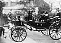 King's carriage leaving Longchamps with Loubet and King Edward.jpg