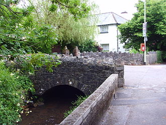 Kingskerswell - A bridge in the old part of Kingskerswell