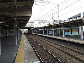 Kintetsu-Tambabashi Station Railway station in Kyoto, Japan