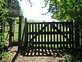 Kissing Gate and Gate Entrance to Knole Park - geograph.org.uk - 1321547.jpg