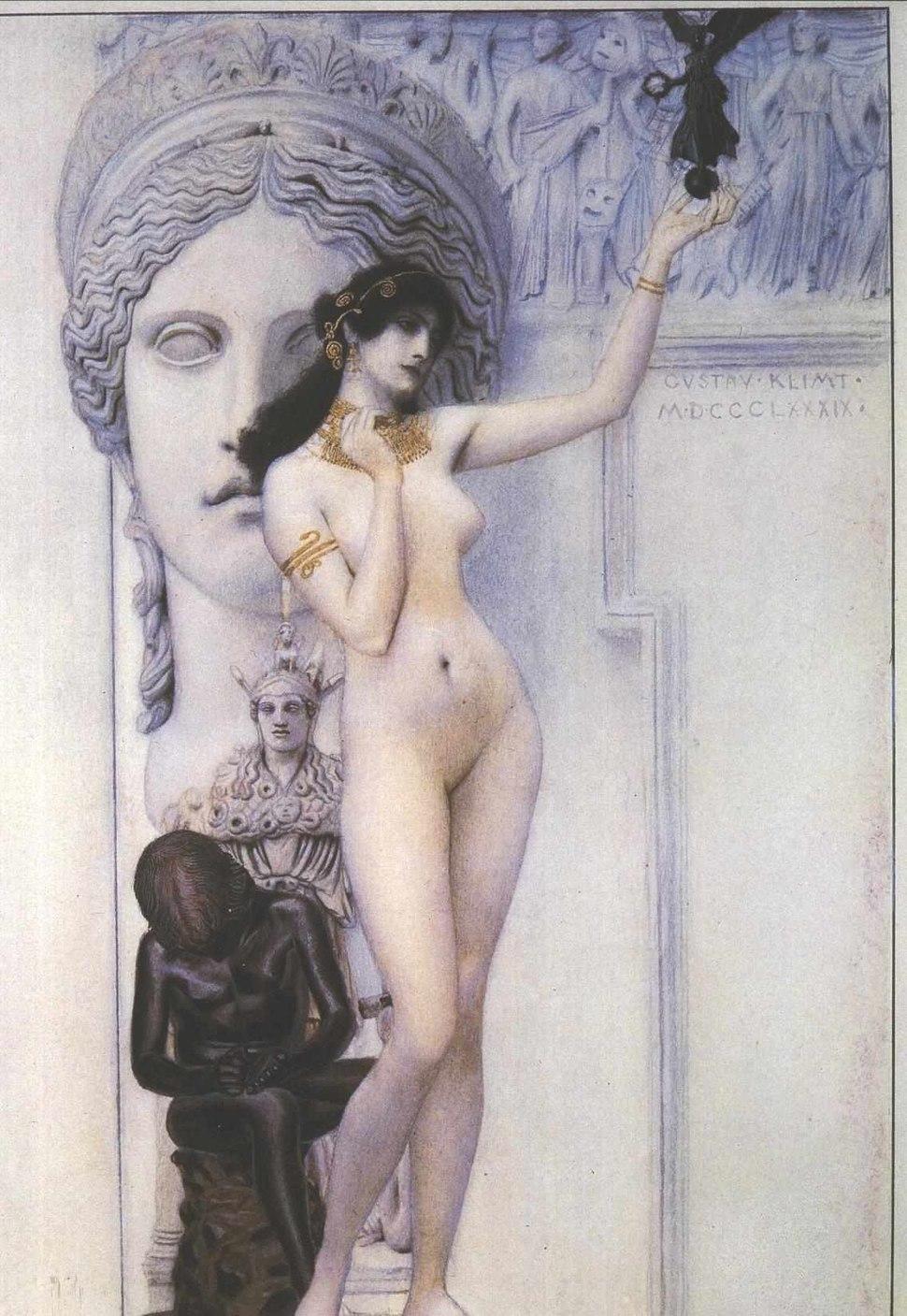 Klimt - Allegorie der Skulptur