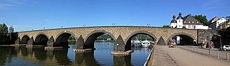 Baldwin of Luxembourg - The Balduinbrücke in Koblenz.