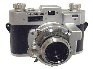 Kodak 35 Rangefinder - Image: Kodak 35RF