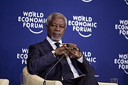 Kofi Annan - World Economic Forum on Africa 2012