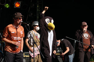 FC St. Pauli - The ska punk group Kollmarlibre are avowed supporters of FC St. Pauli.