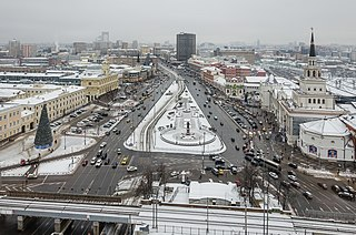 square in Moscow, Russia