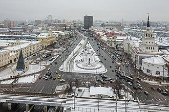 Hilton Moscow Leningradskaya - Komsomolskaya Square, view from the Hilton Moscow Leningradskaya